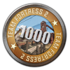 TF2 1000 Hours Played