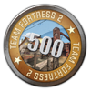 TF2 500 Hours Played